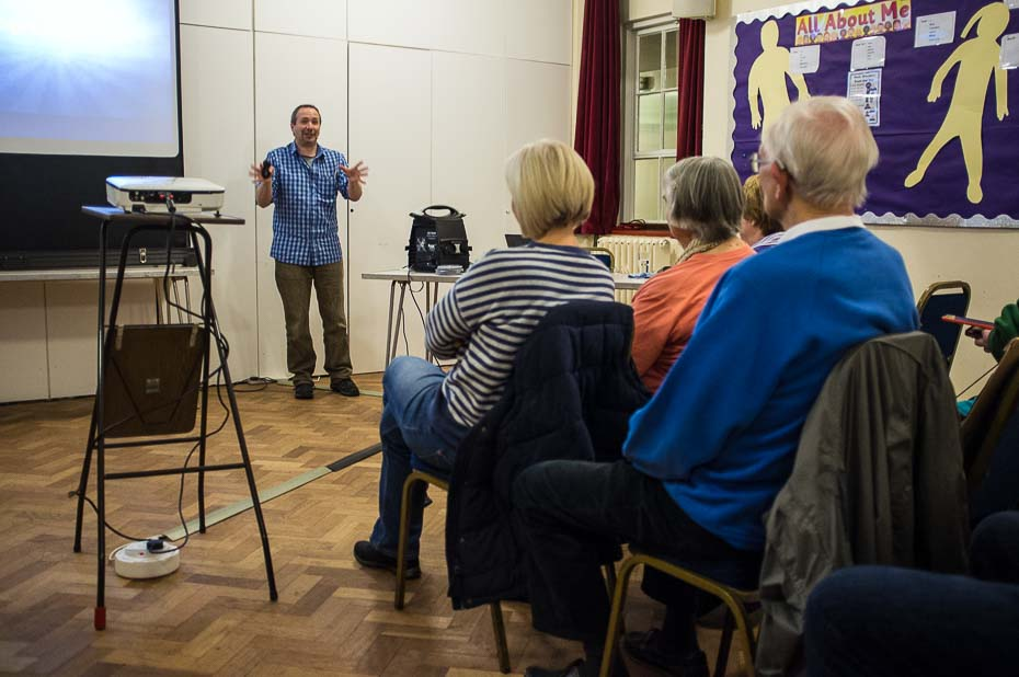 Gavin Hoey at Cheam Camera Club
